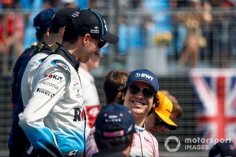 Robert Kubica, Williams Racing y Lance Stroll, Racing Point