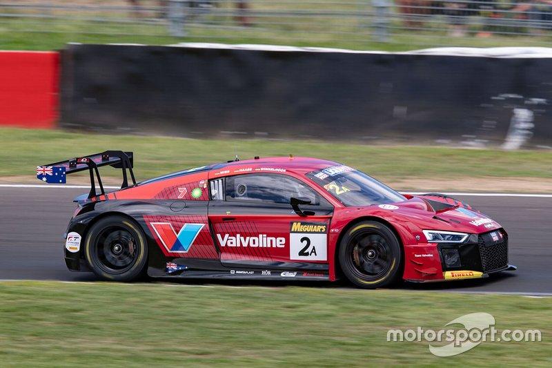 14. #2 Audi Sport Team Valvoline Audi R8 LMS: Christopher Mies, Christopher Haase, Markus Winkelhock