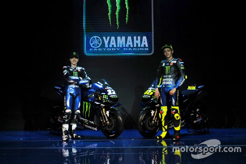Маверік Віньялес, Валентино Россі, Yamaha Factory Racing