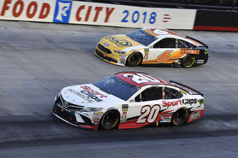 Erik Jones, Joe Gibbs Racing, Toyota Camry Sport Clips and Trevor Bayne, Roush Fenway Racing, Ford Fusion AdvoCare Rehydrate