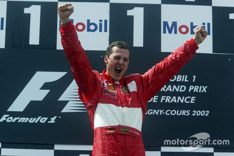 16. Michael Schumacher - Letzter Sieg: Großer Preis von China 2006 für Ferrari