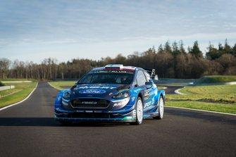 M-Sport Ford 2019 renk düzeni