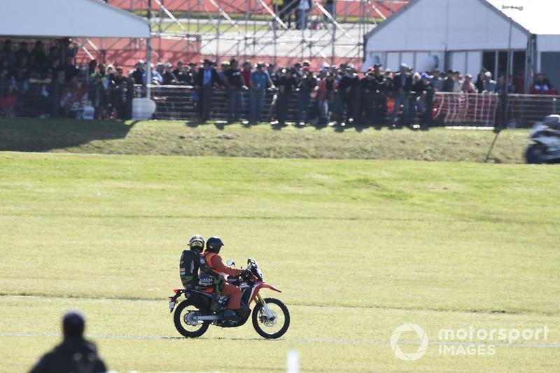 Жоанн Зарко, Monster Yamaha Tech 3, після аварії