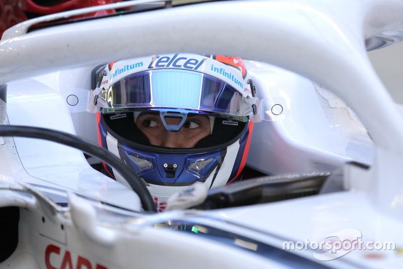 Татьяна Кальдерон, тест-пілот Sauber C37