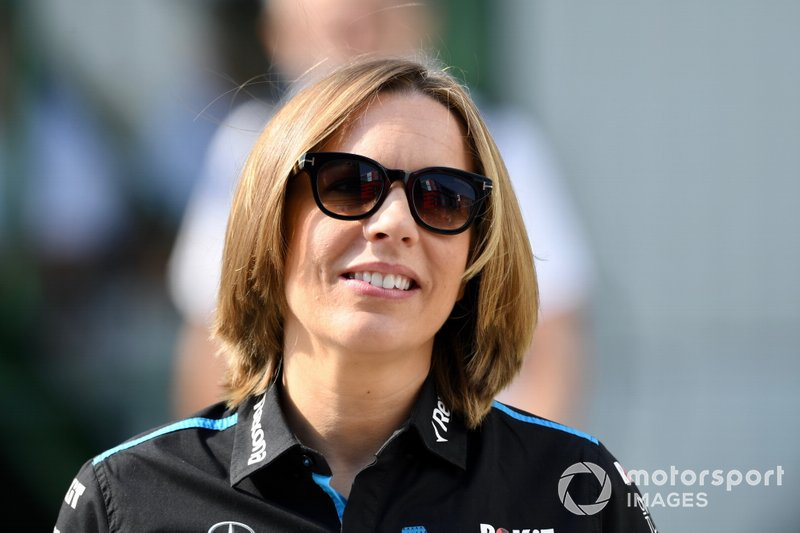 Claire Williams, directrice adjointe de Williams Racing