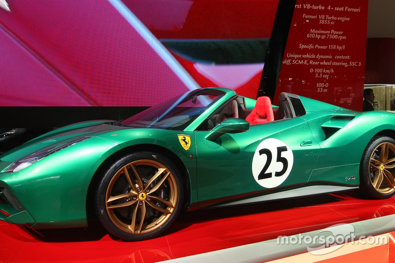 Ferrari 488 Spider jubileumeditie