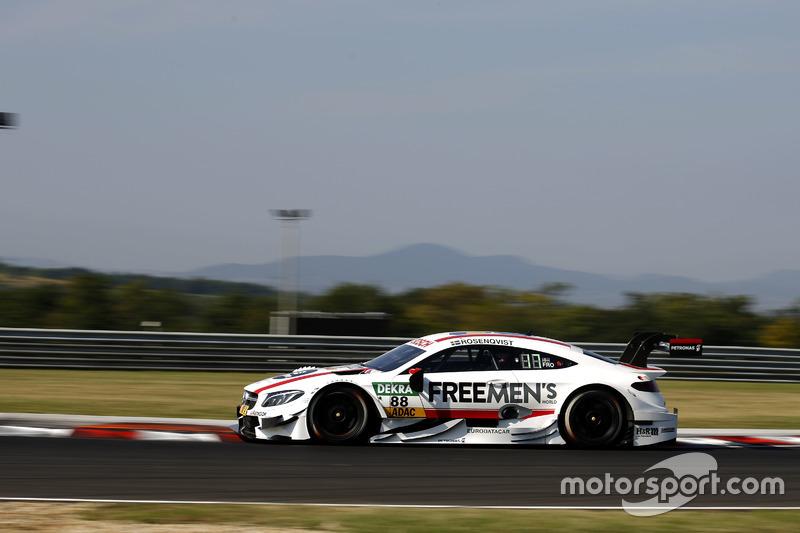 8. Felix Rosenqvist, Mercedes-AMG Team ART, Mercedes-AMG C 63 DTM