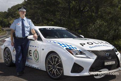 Des Lexus RC F pour la police de Nouvelle-Galles du Sud (Australie)