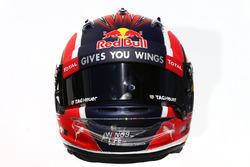 El casco de Daniil Kvyat, Red Bull Racing