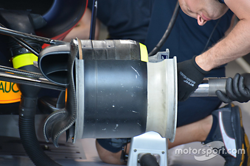 Red Bull Racing RB12 front brake assembly