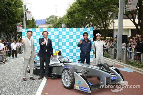 Esibizione Formula E a Tokyo
