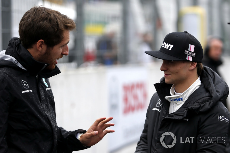 Daniel Juncadella mit Lucas Auer, Mercedes-AMG Team HWA, Mercedes-AMG C63 DTM