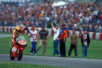 Winner Valentino Rossi