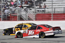 Brendan Gaughan, Richard Childress Racing Chevrolet and Ryan Reed, Roush Fenway Racing Ford