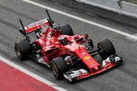 Kimi Raikkonen, Ferrari SF70H sensörlerle