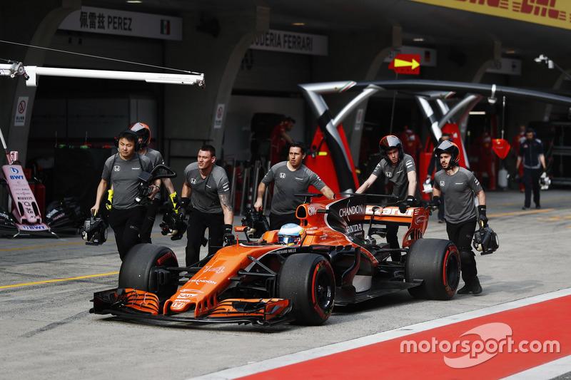 11 місце — Фернандо Алонсо, McLaren — 54