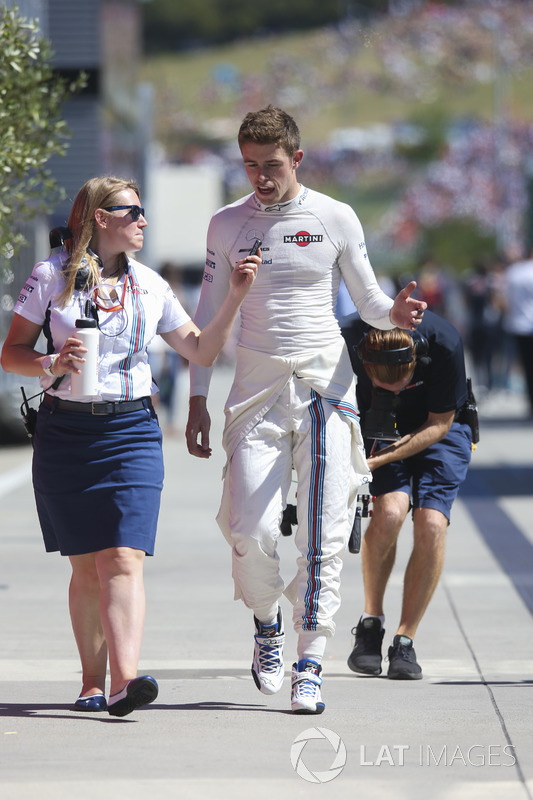 Пол ді Реста, резервний пілот Williams F1