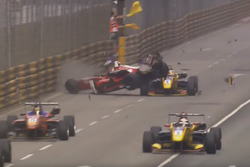 Crash Macau Grand Prix