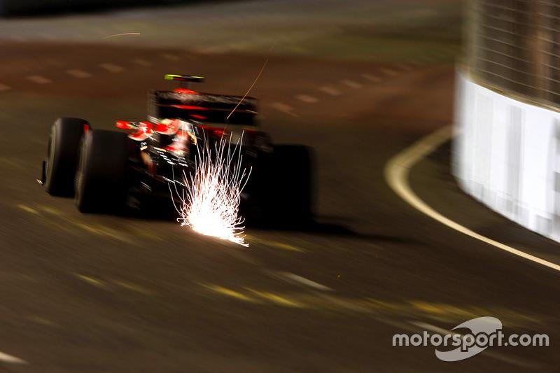 F1, Singapur 2010: Lucas di Grassi, Virgin VR-01