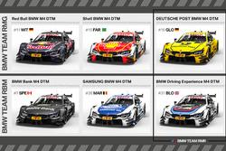 Die BMW-Designs für die DTM-Saison 2017