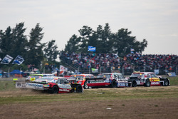 Jose Manuel Urcera, Las Toscas Racing Chevrolet, Matias Rossi, Nova Racing Ford, Gabriel Ponce de Leon, Ponce de Leon Competicion Ford
