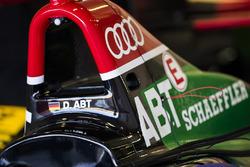 Roll hoop on car of Daniel Abt, Audi Sport ABT Schaeffler