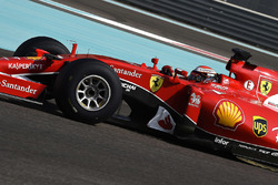 Тесты шин Pirelli 2017 года: Кими Райкконен, Ferrari