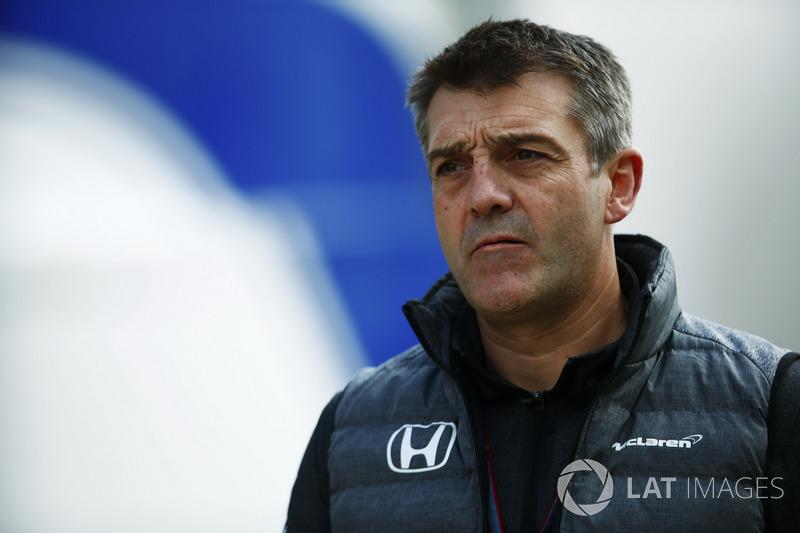 Командний менеджер McLaren Пол Джеймс