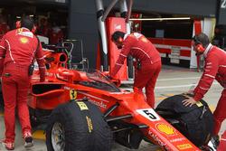 Ferrari SF70H, cockpit shield