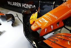 McLaren MCL32: Nase