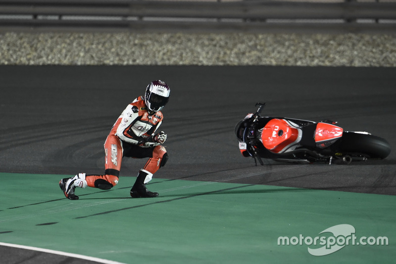 Crash, Saeed Al Sulaiti, QMMF Racing