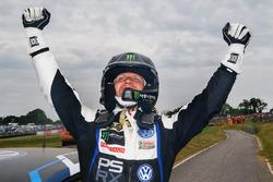 Winner Petter Solberg, PSRX Volkswagen Sweden VW Polo Gti