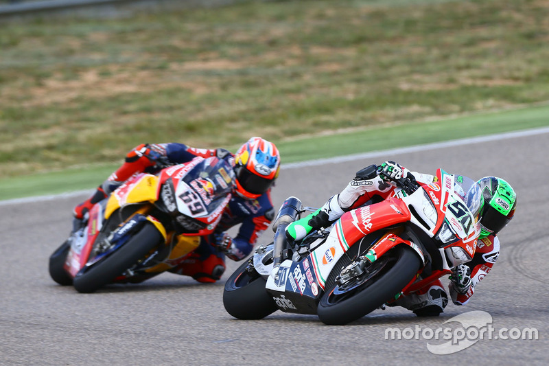 Eugene Laverty, Milwaukee Aprilia World Superbike Team, Nicky Hayden, Honda World Superbike Team