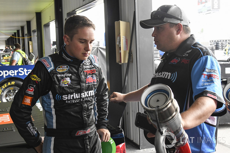 Christopher Bell, Kyle Busch Motorsports Toyota, Ryan Fugle