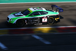 #7 Team Parker Racing Ltd Bentley Continental GT3: Ian Loggie, Callum Macleod