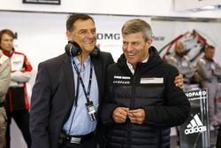Michael Steiner, Fritz Enzinger, Porsche Team