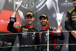 Podium Pro-AM: second place #97 Oman Racing Team with TF Sport, Aston Martin V12 GT3: Ahmad Al Harthy, Jonny Adam