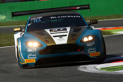 #97 Oman Racing Team with TF Sport, Aston Martin V12 GT3: Ahmad Al Harthy, Jonny Adam