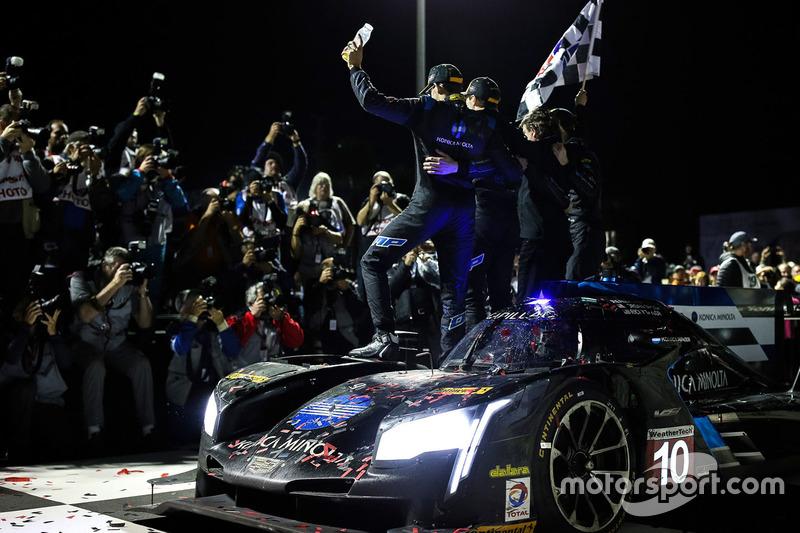 Ganadores Ricky Taylor, Jordan Taylor, Alex Lynn, Wayne Taylor Racing