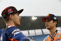 Maverick Viñales, Yamaha Factory Racing; Dani Pedrosa, Repsol Honda Team