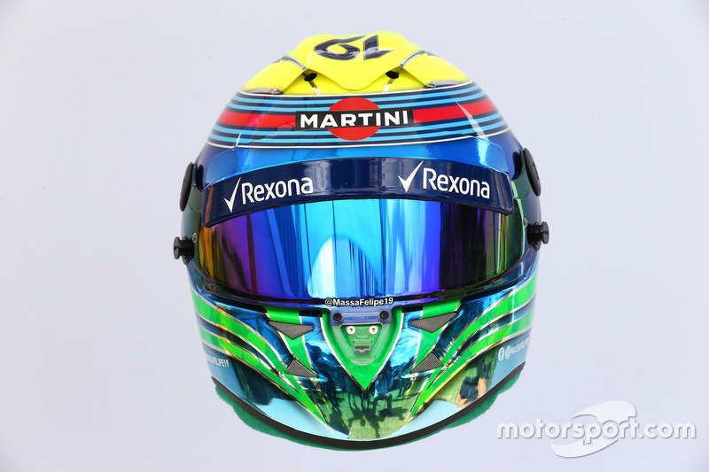 Casco de Felipe Massa, Williams