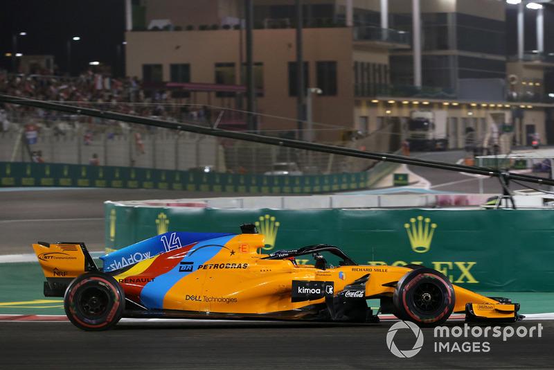 Los divertidos comentarios de Alonso sobre sus puntos