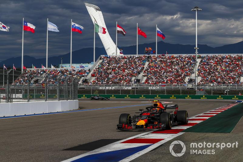 Russia: Max Verstappen