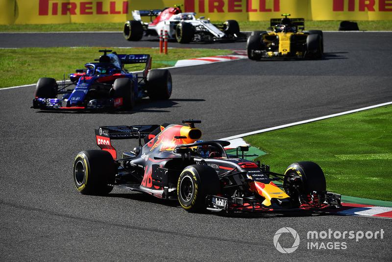 P4: Daniel Ricciardo, Red Bull Racing RB14