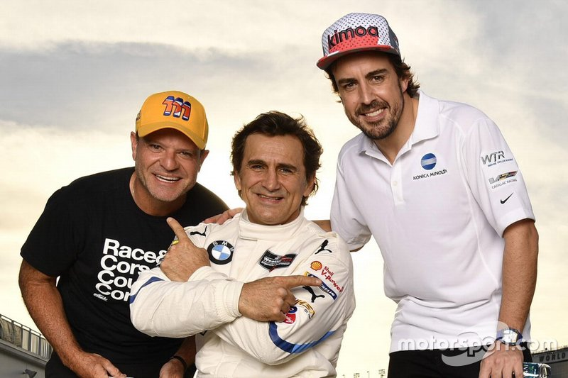 Рубен Баррікелло, JDC/Miller Motorsports, Алекс Дзанарді, BMW Team RLL, Фернандо Алонсо, Wayne Taylor Racing