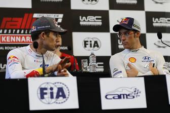 Thierry Neuville, Hyundai Motorsport, Sébastien Ogier, M-Sport Ford