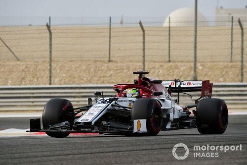 Teste de abril no Bahrein