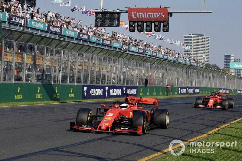 Vettel se queja de falta de ritmo