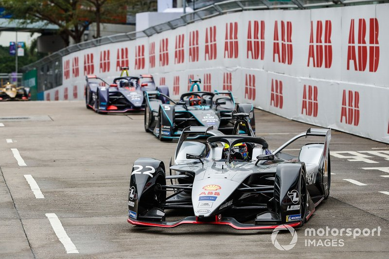 Oliver Rowland, Nissan e.Dams, Nissan IMO1 Stoffel Vandoorne, HWA Racelab, VFE-05, Sam Bird, Envision Virgin Racing, Audi e-tron FE05