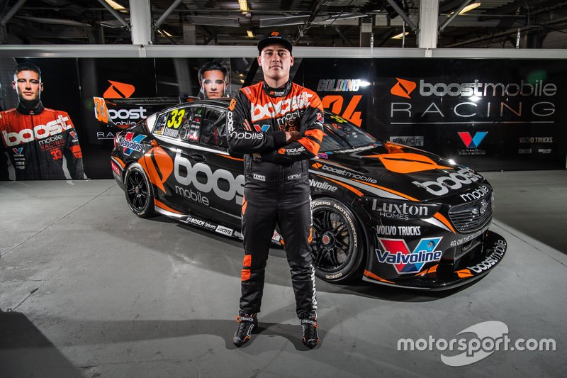 Richie Stanaway, Garry Rogers Motorsport unveil